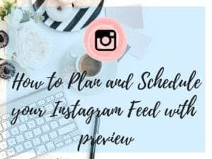 How to Plan & Schedule your Instagram Feed with Preview App
